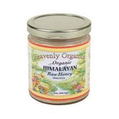 Heavenly Organics Organic Himalayan Raw White Honey - 12 oz