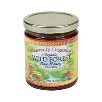 Heath Valley Natural Foods 30607 Heath Valley Wild Forest Honey - 6x12 Oz