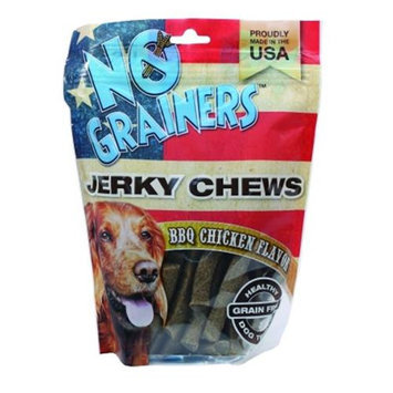 Nootie Llc Nootie No Grainers Jerky Chews 16 Ounce Bbq Chicken TNJC16BC