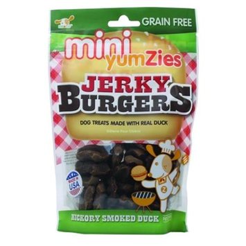 Nootie Llc Nootie Mini Yumzies Grain Free Jerky Burgers 5 Ounce Smoked Duck T5JBHS