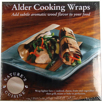 tures Cuisine Nature's Cuisine WRP005 Alder Cooking Wraps