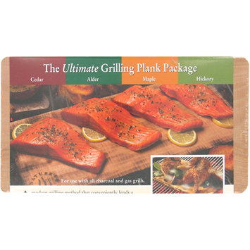 Natures Cuisine NC010-410 4 Count Ultimate Cedar Outdoor Grilling Plank
