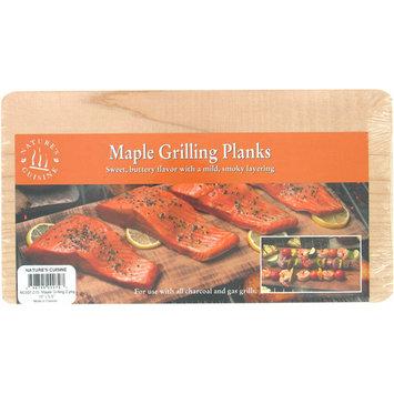 Natures Cuisine 2 Count Maple Cedar Outdoor Grilling Plank