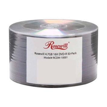 Rosewill 4.7GB 16X DVD-R 50 Packs Disc Model RCDM-10001