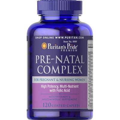 Puritan's Pride 2 Units of Pre-Natal Complex-120-Caplets