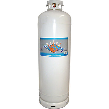 FLAME KING 100 lb Propane Cylinder With POL