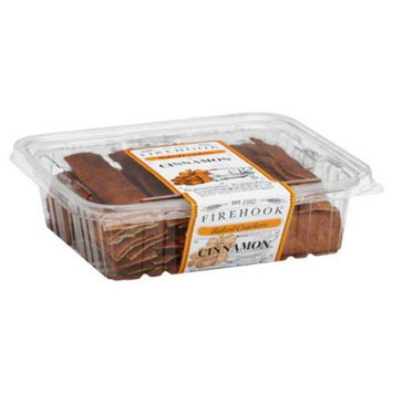 Firehook Crackers, Baked, Cinnamon - 7 Oz. Case of 12