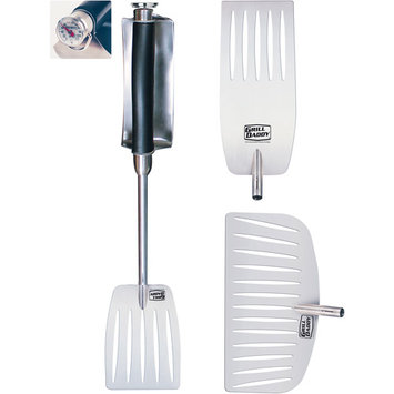 The Grill Daddy Brush C Grill Daddy Heat Shield 4-Piece BBQ Tool Set