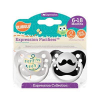 Ulubulu MP-01-99-H-1-025 6 - 18 Month - Mommas Boy & Mustache Expression Pacifie