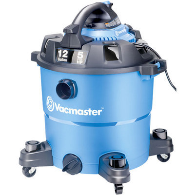 Vacmaster VBV1210 12-Gallon 5HP Detachable Blower Wet/Dry Vacuum