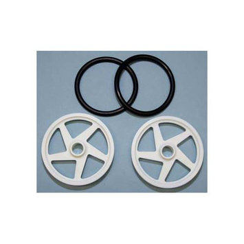 2504 O-Ring Wheels 2 White (2) RJSC2504 RJSPEED