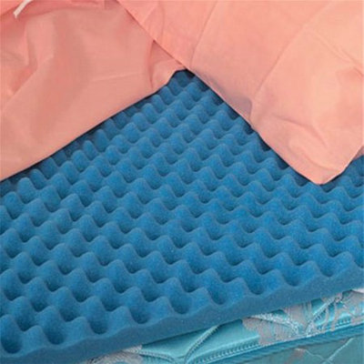 Mabis Healthcare Hospital Bed Size Convoluted Bed Pad
