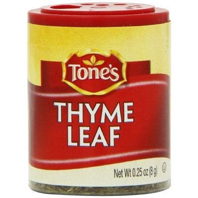 Tone's Mini's Thyme, Leaf, 0.25 Ounce (Pack of 6)