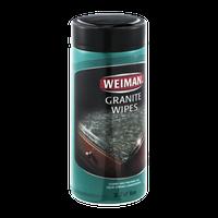 Weiman Granite Wipes - 30 CT