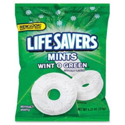 Marjack Candy Lifesavers, Wint-O-Green, 6.25 oz Bag