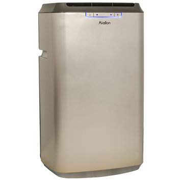 Cam Consumer Products, Inc. 12,000 BTU Dual Hose Portable Air Conditioner with Exclusive InvisiMist Technology