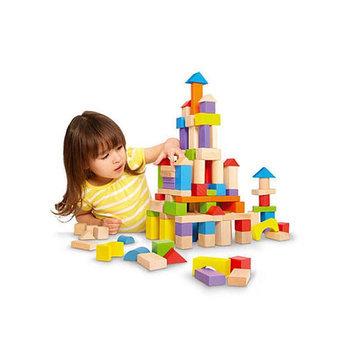Imaginarium Wooden Block Set - 150-Piece