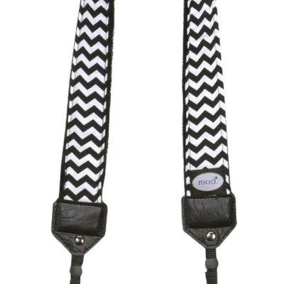 Mod Adjustable Camera Neck Strap - Black/White (CLS240)