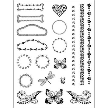 Stamping Scrapping Spellbinders Matching Clear Stamps