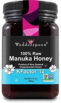 Wedderspoon Organic 100 Raw Manuka Honey