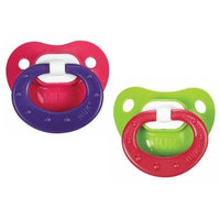 NUK Juicy Design Silicone Pacifier Size 3 18-36m 2pk Colors Vary