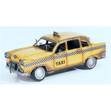 Atlantic Importers Jlc1216-Y 1933 NYC Yellow Checker Cab Replica