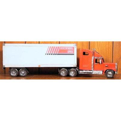 Atlantic Importers Jltk1855-R Red Semi With Trailer Replica