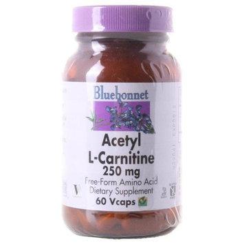 Bluebonnet Nutrition, Acetyl L-Carnitine 250 mg 60 Vcaps