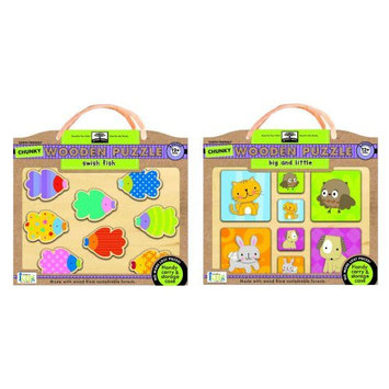 Innovative Kids Start Chunky Wooden Puzzle Combo Pack