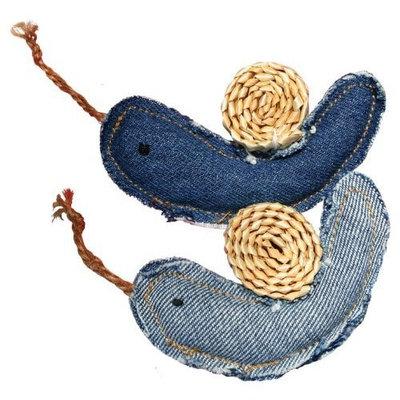 KONG Denim Snails Catnip Toy