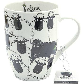 Dublin Gift 3456 The Black Sheep Ceramic Mug - Pack of 6