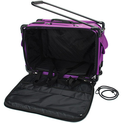 Tutto Machine On Wheels Travel Case, Purple