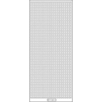 Elizabeth Craft Designs 124577 Lines Dots Peel Off Stickers 4 in. x 9 in. Sheet-Gold