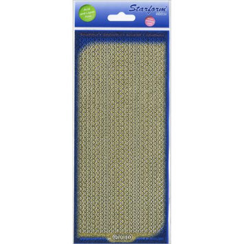 Elizabeth Craft Designs 124867 Glitter Dots Assorti Stickers 4 in. x 9 in. Sheet-Gold