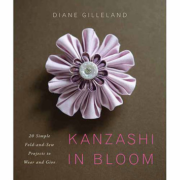 Random House Potter Craft Books-Kanzashi In Bloom