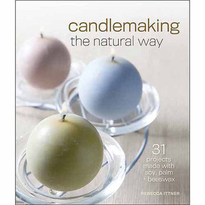Sterling Publishing Lark Books-Candle Making The Natural Way