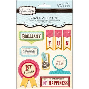 Grant Studios GT1579 Grace Taylor Grand Adhesions 3D Embellishment-Vintage