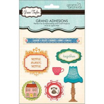 Grant Studios GT1581 Grace Taylor Grand Adhesions 3D Embellishment-Home Life