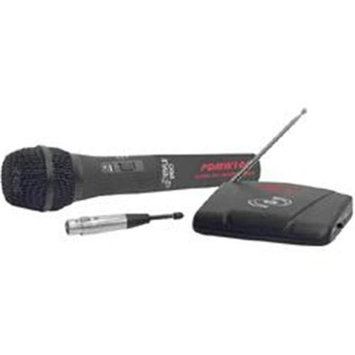 Pyle PylePro PDWM100 Wireless/Wired Microphone - 100Hz to 10kHz - Wireless, Cable