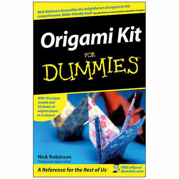 Nostalgia Wiley Publishers-Origami For Dummies Kit