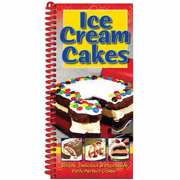 Cq Products CQ Publishing Ice Cream Cakes Recipe Book