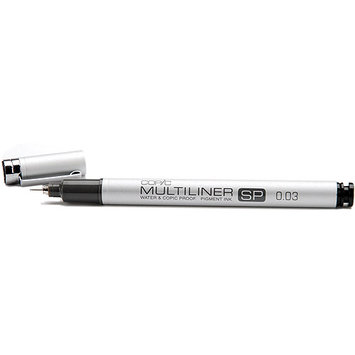 Copic MLSP025 Multiliner SP - Refillable - Black Pen .25mm