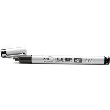 Copic MLSP003 Multiliner SP - Refillable - Black Pen .03mm