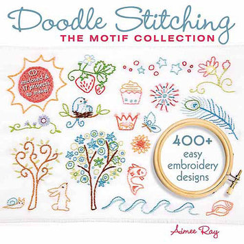 Sterling Publishing 454906 Lark BooksDoodle Stitching The Motif Collection