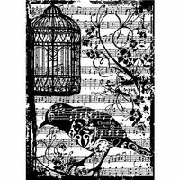 Stampers Anonymous Tim Holtz 'Ticket' Cling Rubber Stamp