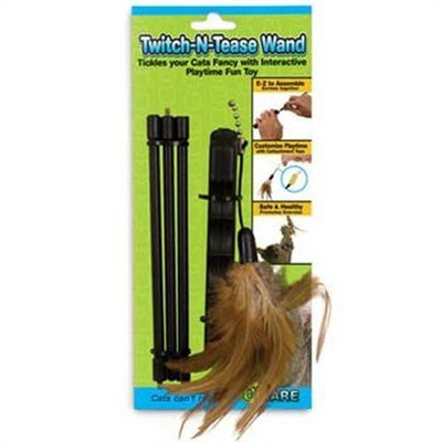 Ware Twitch-N-Tease Wand Cat Toy