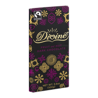 Divine Dark Chocolate Fruit and Nut