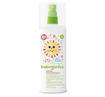 Babyganics SPF 50+ Sunscreen Spray