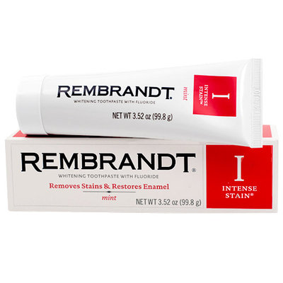 Rembrandt® Intense Stain® Whitening Toothpaste