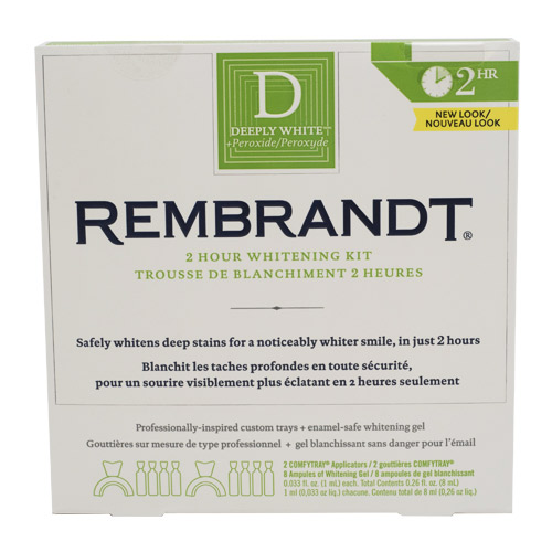 Rembrandt® Deeply White® 2 Hour Whitening Kit